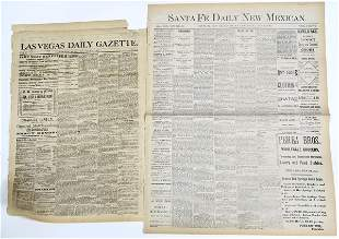 Early News Mexico Newspaper Sections [136834]