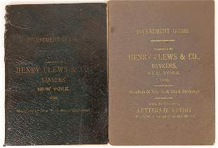 Henry Clews & Co. Investment Guides [135183]