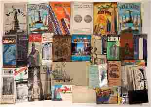 New York City Tourist Brochure Collection [135688]