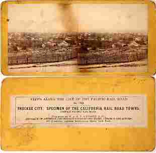 Salt Lake City Stereoview Mislabeled as Truckee