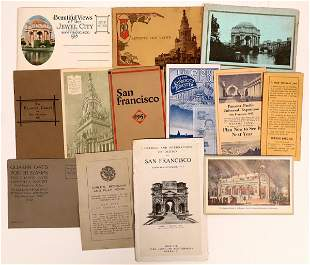 Panama-Pacific International Expo. Small Pamphlet