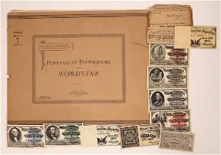 Columbian Exposition Ephemera Collection [135186]