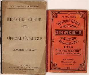 1876 Philadelphia Centennial Exposition Visitor Guides
