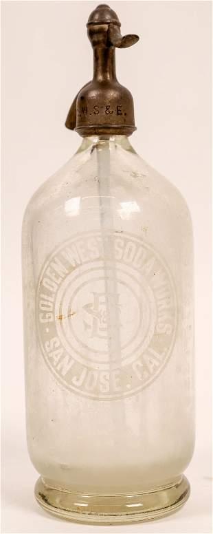 Golden West Soda Works Etched Seltzer [136512]