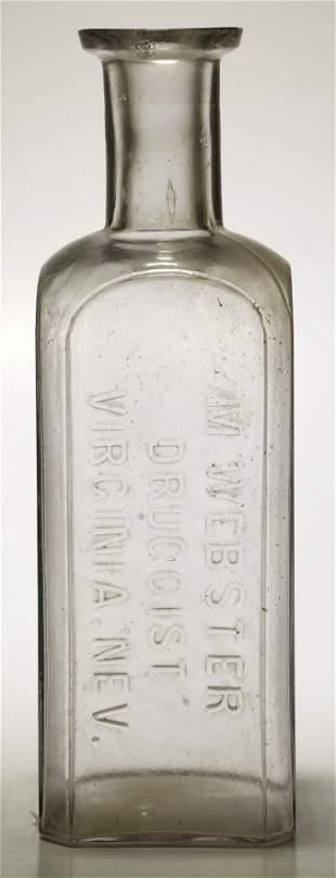M Webster Druggist Bottle [59202]