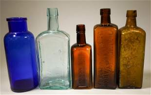 Tonic and Extract Bottles - 4 [135640]