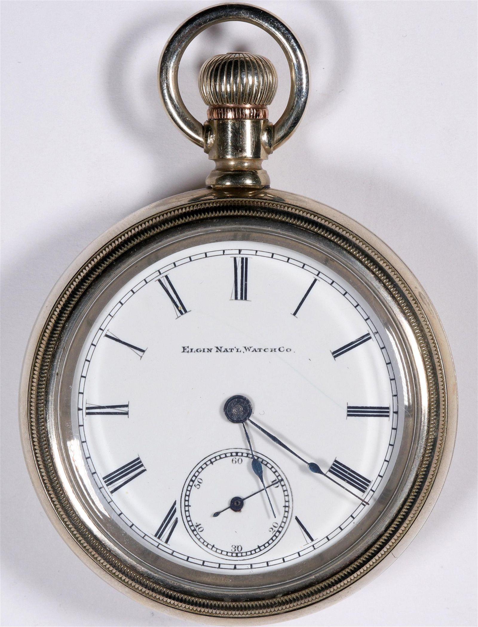 7 Jewel Elgin Pocket Watch [136555]