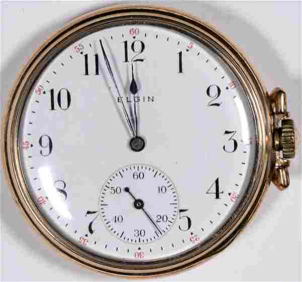 Gold Elgin Pocket Watch [136551]