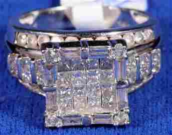 Shadow Box Diamond Ring  [133851]