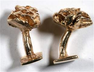 14K Gold Cuff Links [137286]