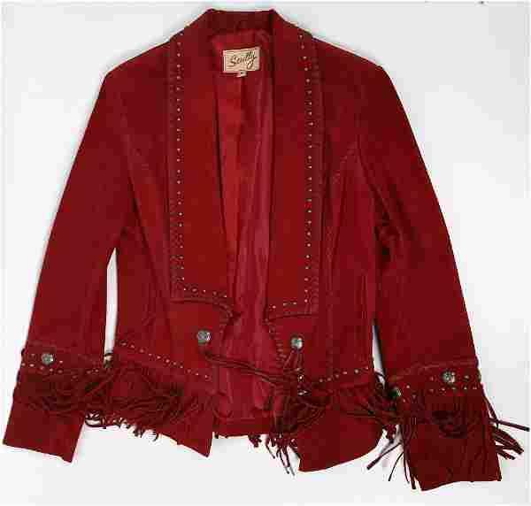 Scully leather fringe jacket [131994]