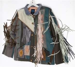 SFR Santa Fe Re-Creations Southwest Leather Fringe