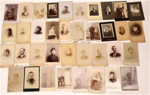 Southern States Cabinet Card Photograph Collection (42)
