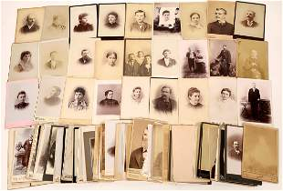 Mid-West Cabinet Card Photograph Collection (101)