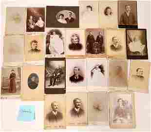 Western States Cabinet Card Photograph Collection (70)