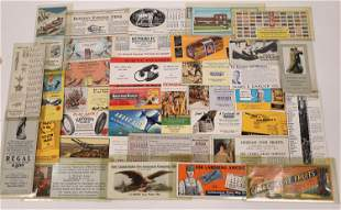 Vintage American Advertising Blotter Collection