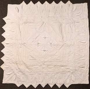 Handmade Quilt all White [136671]