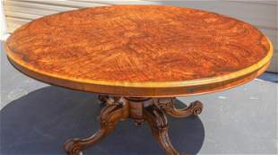 Burlwood Top Dining Table [135048]