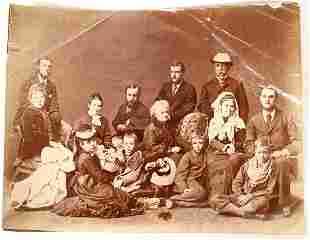 Theo Roosevelt Family Photo, c1873 [134192]