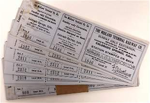 Midland Terminal Railway Tickets [132568]