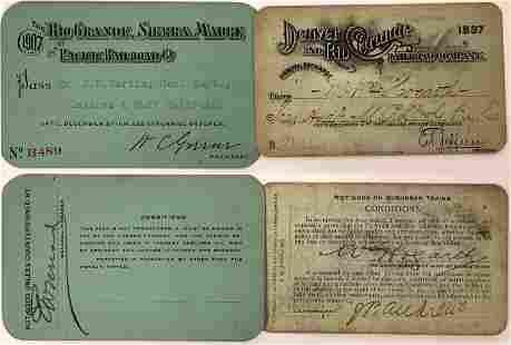 Colorado & New Mexico Railroad Passes [132624]