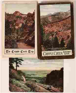 Cripple Creek Shortline Railroad Booklets & Postcard