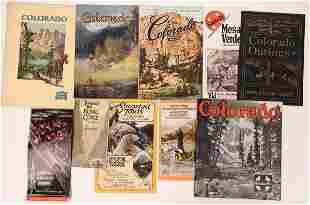 Colorado Railroad Tour Pamphlets [135089]