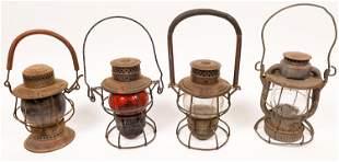 Railroad Lanterns (4) [137432]