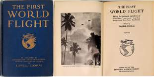 """""""The First World Flight"""" by Lowell Thomas [135863]"""