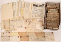 Business Correspondence with Covers and Contents