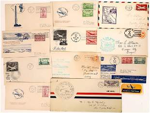 First Flight and Aviation Postal Covers [135126]