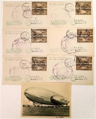 Graf Zeppelin Postal Covers [135119]