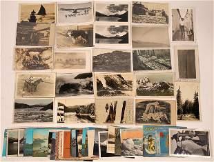 Alaska Scenery & Miscellaneous Postcards [137773]