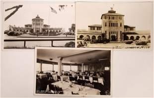 Union Air Terminal, Burbank, California - 3 Postcards