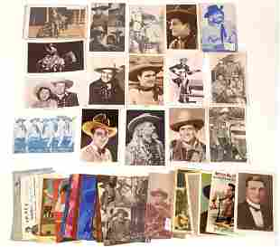Hollywood Western Stars Post Card Collection [137962]