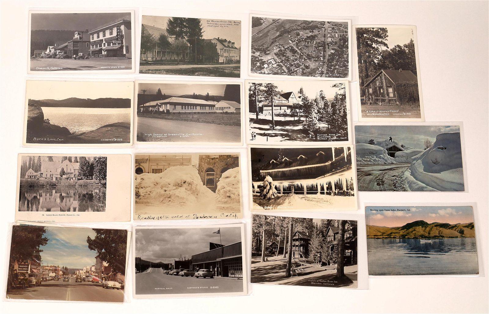 Plumas County Post Card Collection [137975]