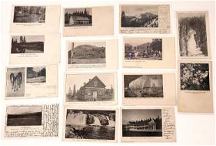 Plumas County Suite Post Card Collection (14 pieces)