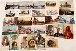 San Francisco Product & Scenic Postcards (22) [136059]