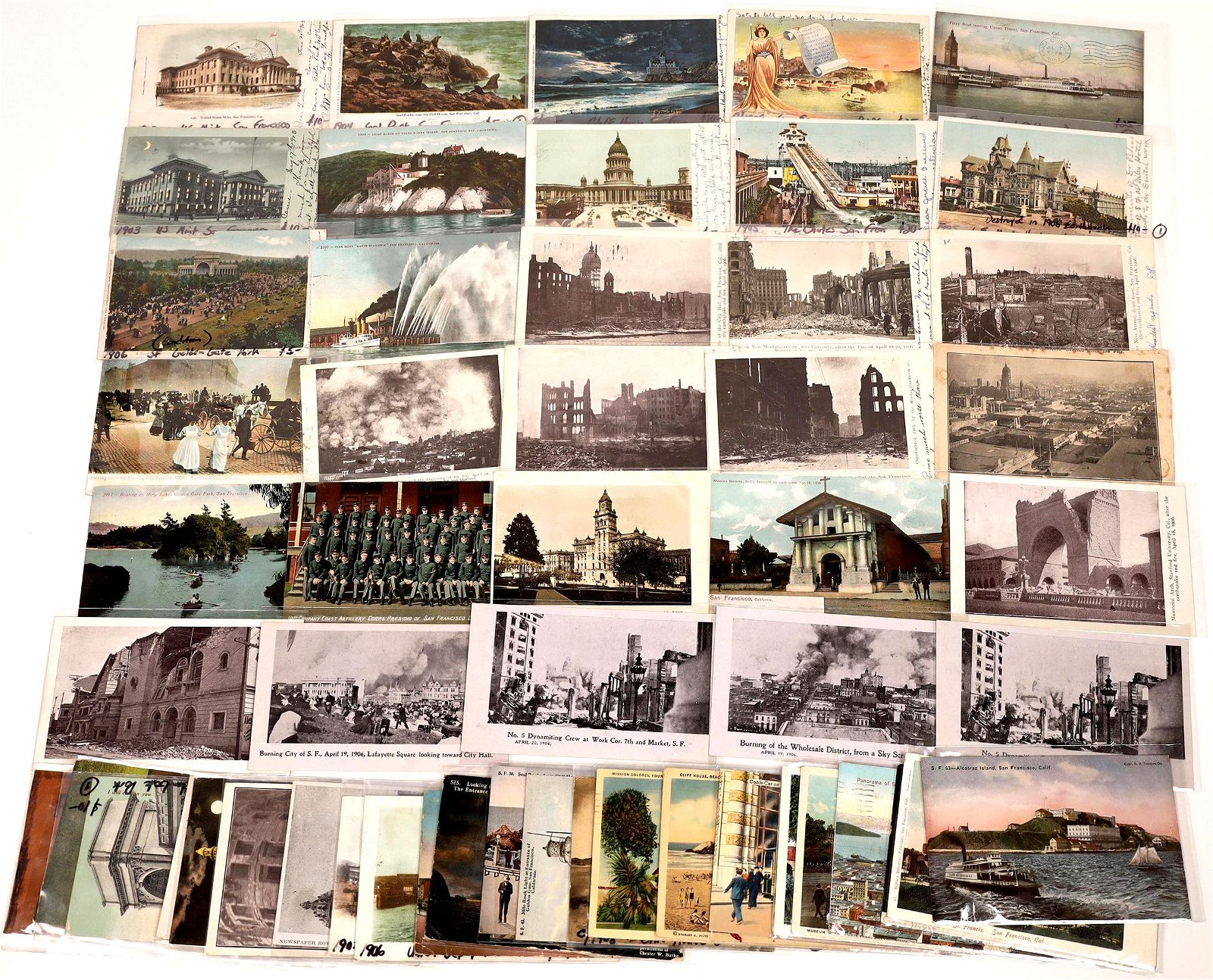 San Francisco, California Postcards (50) [136057]