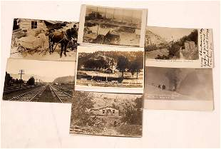 Montana Mining and Railroad Postcard Collection