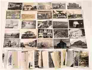 White Border and Other Real Photo Postcard Collection