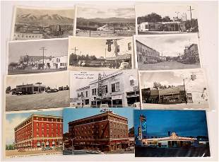 Winnemucca & Lovelock NV area Postcards (12) [136453]