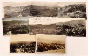 Oregon Birds-Eye Views Postcards (8) [138897]