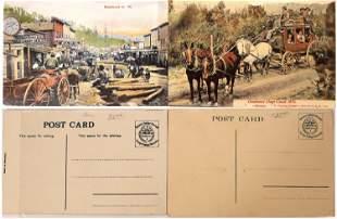 Deadwood Stage Coach Postcards [135138]