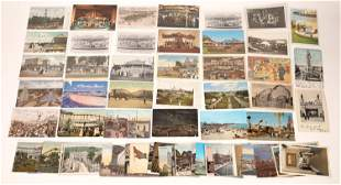 Amusement Park and Carousel Postcard Collection