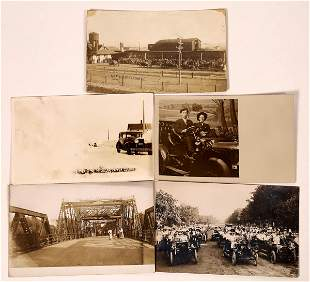 Black & White Automobile RPC's (5) [127082]