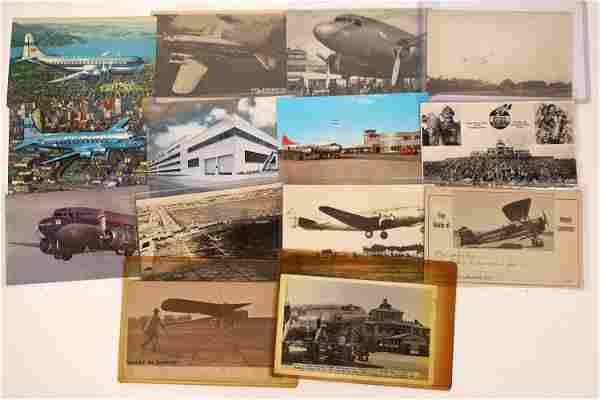 Early Aviation Postcard Collection [133661]