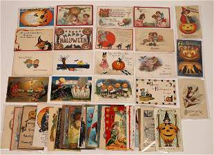Halloween Postcard Collection [138935]