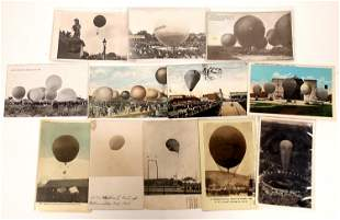It's a Gas -- Hydrogen and Helium Balloon Postcards -
