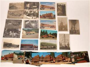 Logging Industry Postcard Collection [137943]